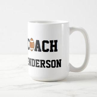 Coach- Football - Personalized Coffee Mugs