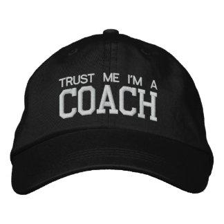 COACH GIFT HAT CAP Personalized Adjustable Hat bt