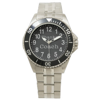 Coach Gifts under 100 Dollars, Black Face Watches