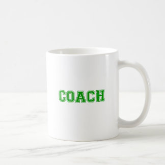 Coach Green Font Coffee Mug