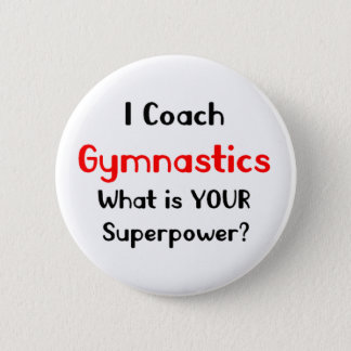 Coach gymnastics button