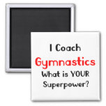 Coach gymnastics magnet