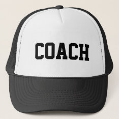 Coach Hat For Sports Teams | Customizable Colors at Zazzle