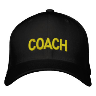 COACH Hat - Military letters Embroidered Baseball Cap