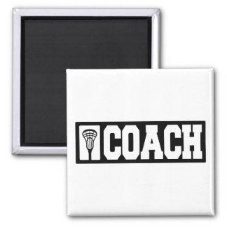 Coach - Lacrosse Coach 2 Inch Square Magnet