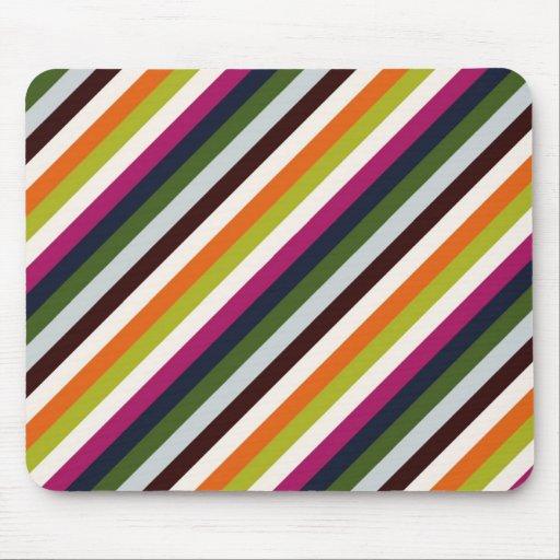 Coach legacy stripe mouse mat