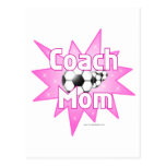 Coach Mom Postcard