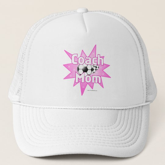 Coach Mom Trucker Hat