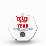 Coach of the Year Customizable Awards