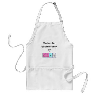 Coach periodic table name apron