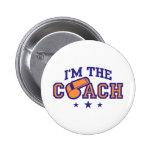 Coach Pinback Button