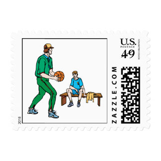 Coach Postage Stamps