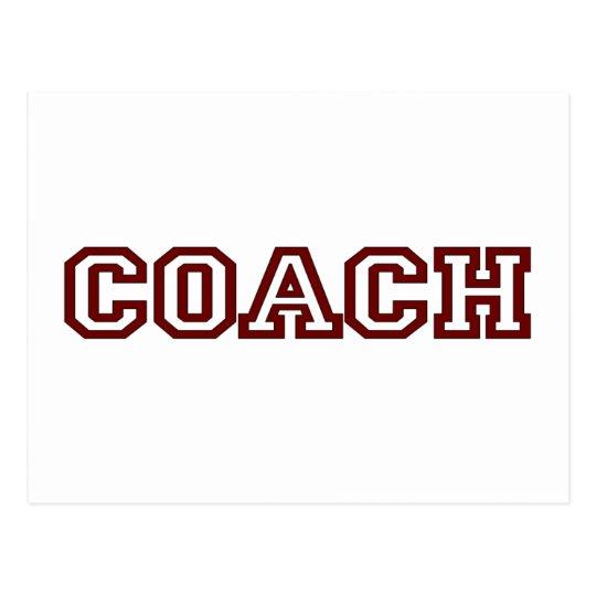 Coach Postcard