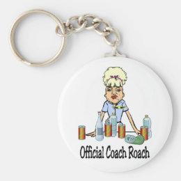 Coach Roach Keychain