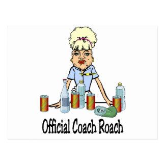 Coach Roach Postcard