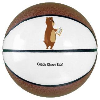 Coach Sleepy Bear Basketball
