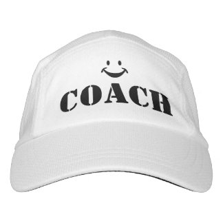 COACH + Smiley - DIY - Add your own text Headsweats Hat