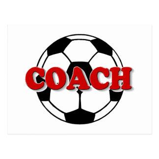 Coach (Soccer Ball) Postcard