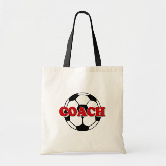 Coach (Soccer Ball) Tote Bag