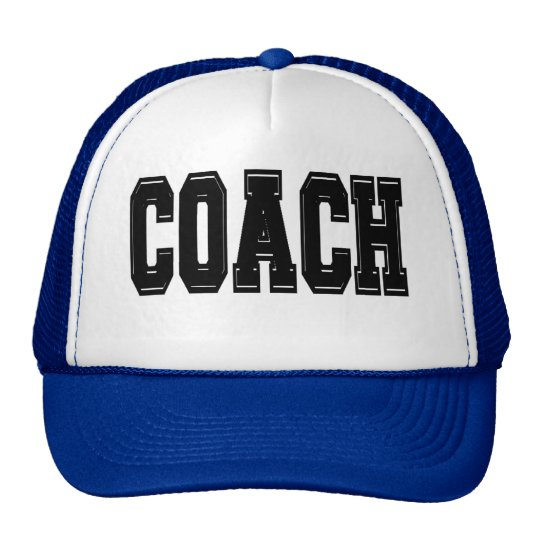 Coach T-shirts and Gifts. Trucker Hat