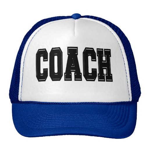 Coach T-shirts and Gifts. Trucker Hats