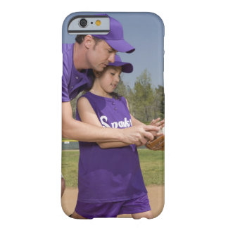 Coach teaching little league player barely there iPhone 6 case