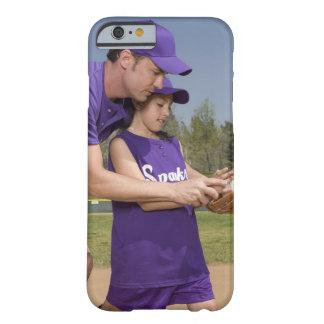 Coach teaching little league player iPhone 6 case