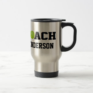 Coach - Tennis (Personalized) Coffee Mugs