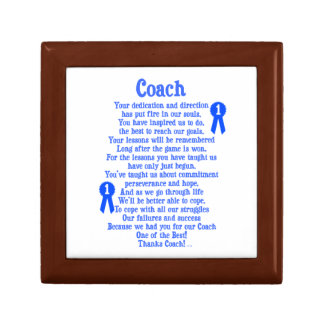 Coach Thank You Jewelry Box