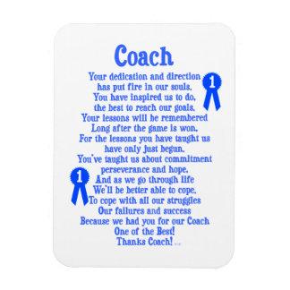Coach Thank You Magnet
