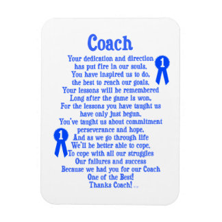 Coach Thank You Magnets