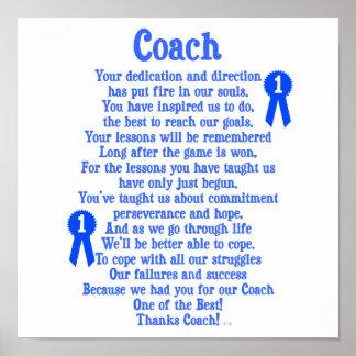 Coach Thank You Print