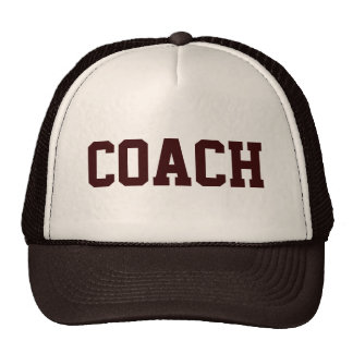 COACH Trucker Hat {Tan & Brown}