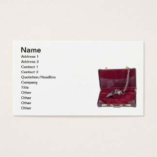 Coach Whistle Briefcase Business Card