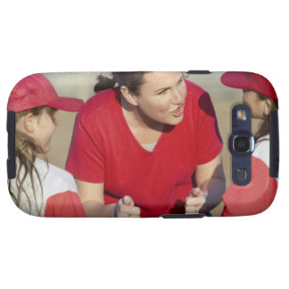 Coach with little league players samsung galaxy s3 covers