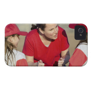 Coach with little league players iPhone 4 cover