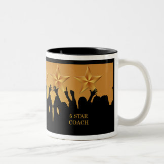 Coach Worlds Greatest Cheers 5 Star Gold Mug