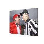 Coach Yelling at Referee Canvas Print
