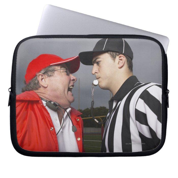 Coach Yelling at Referee Computer Sleeves