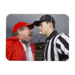 Coach Yelling at Referee Flexible Magnets