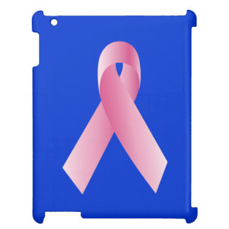 Coaches for a cause_Pink Ribbon Campaign_on blue Cover For The iPad 2 3 4