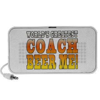 Coaches Parties Worlds Greatest Coach Beer Me Speaker