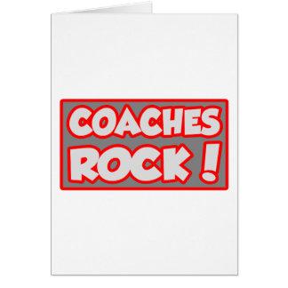 Coaches Rock! Card