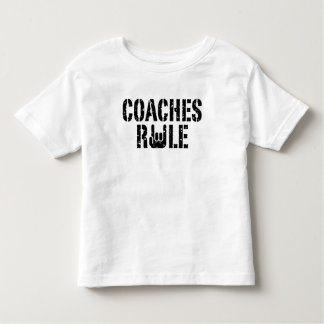 Coaches Rule Toddler T-shirt