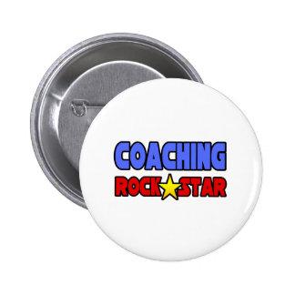 Coaching Rock Star Button