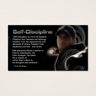 Coaching Self-Discipline Business Cards
