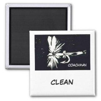 """Coachman"" Dish Washer Status Magnet"
