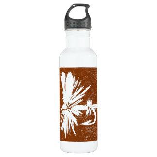 """Coachman on Brown"" Dry Fly Water Bottle"
