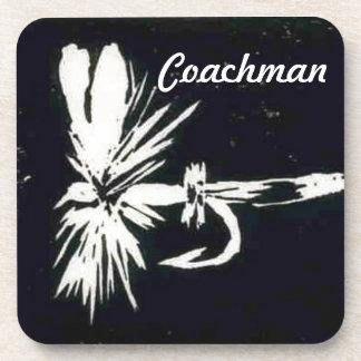 """Coachman"" Wet Fly Coaster"