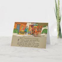 COACHMEN 5x7 Greeting Card